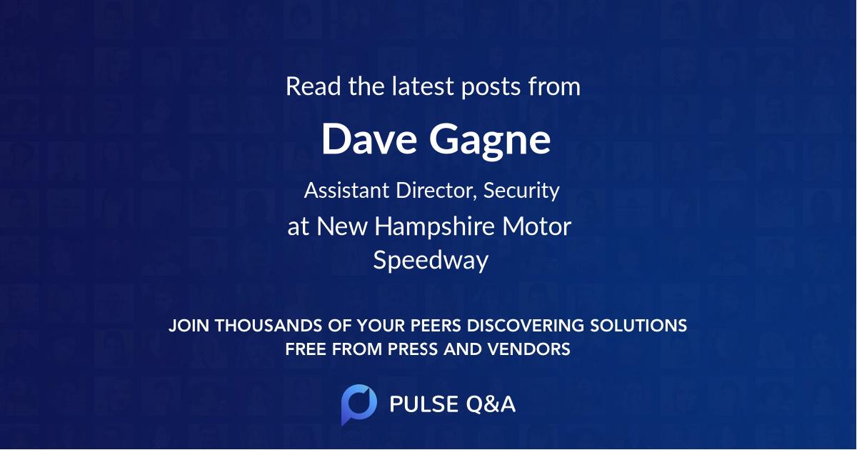 Dave Gagne
