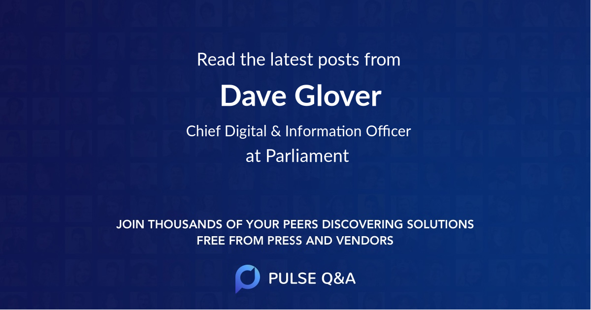Dave Glover