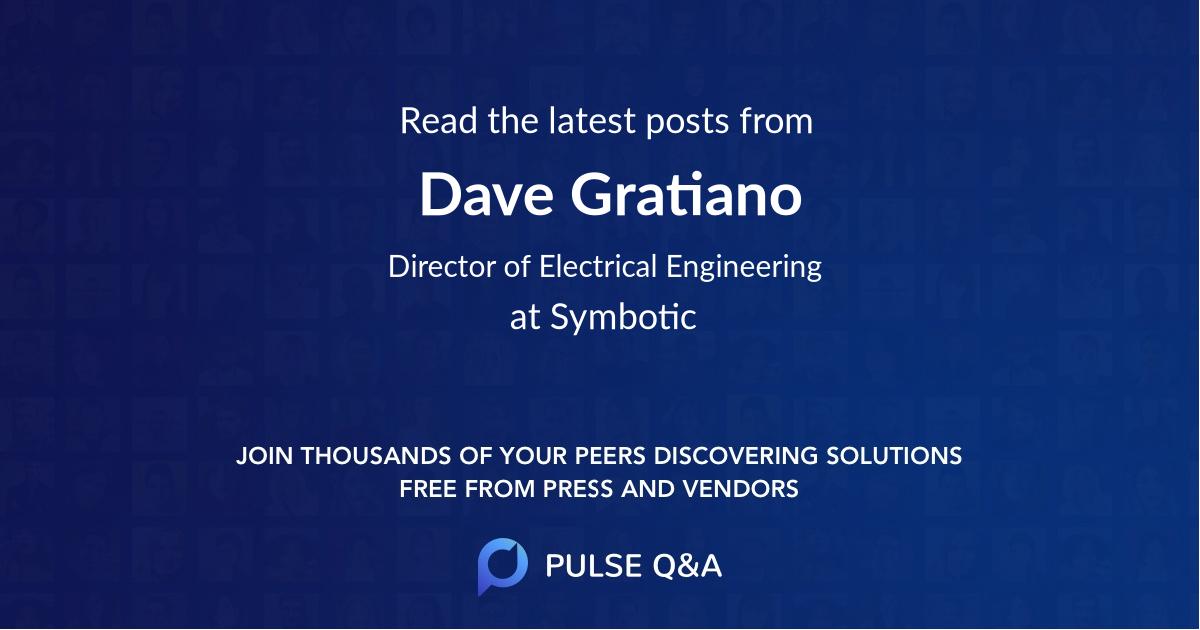 Dave Gratiano