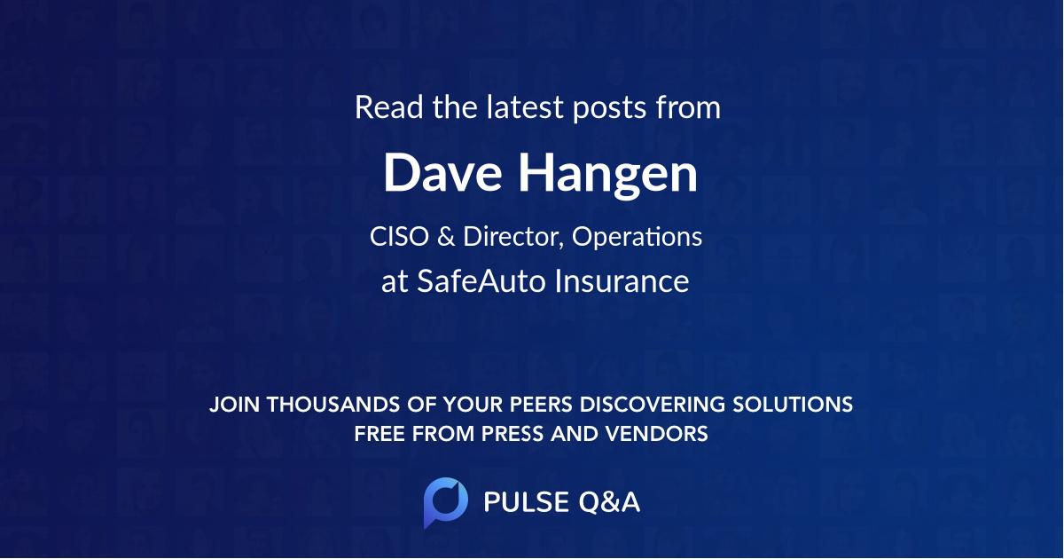 Dave Hangen