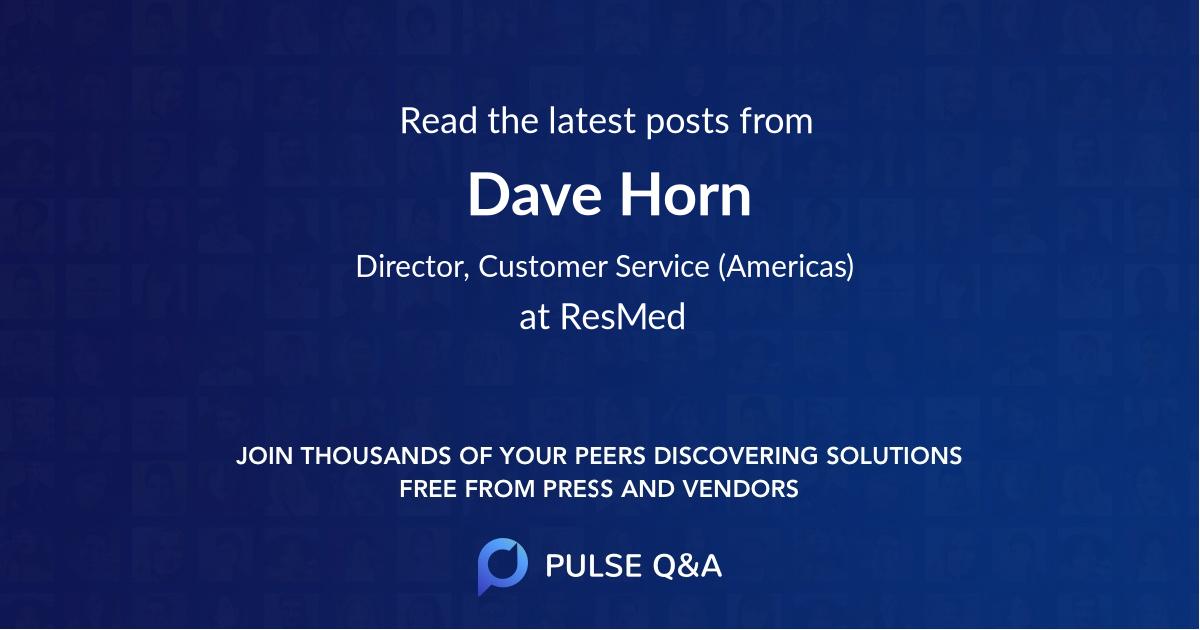 Dave Horn