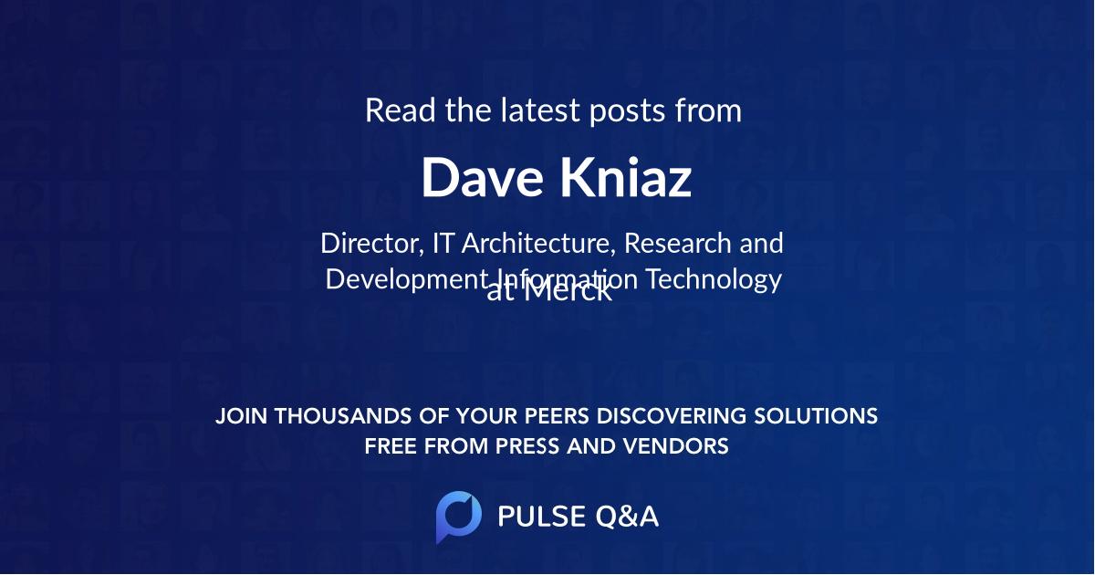 Dave Kniaz
