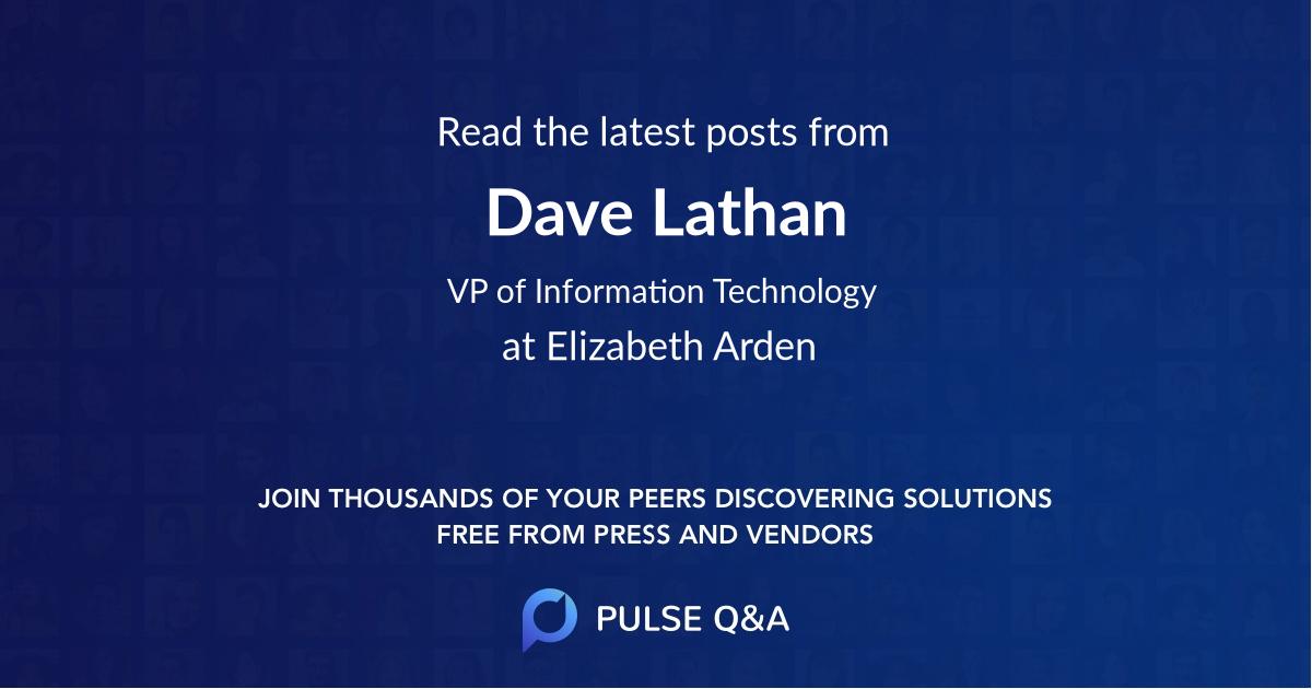 Dave Lathan