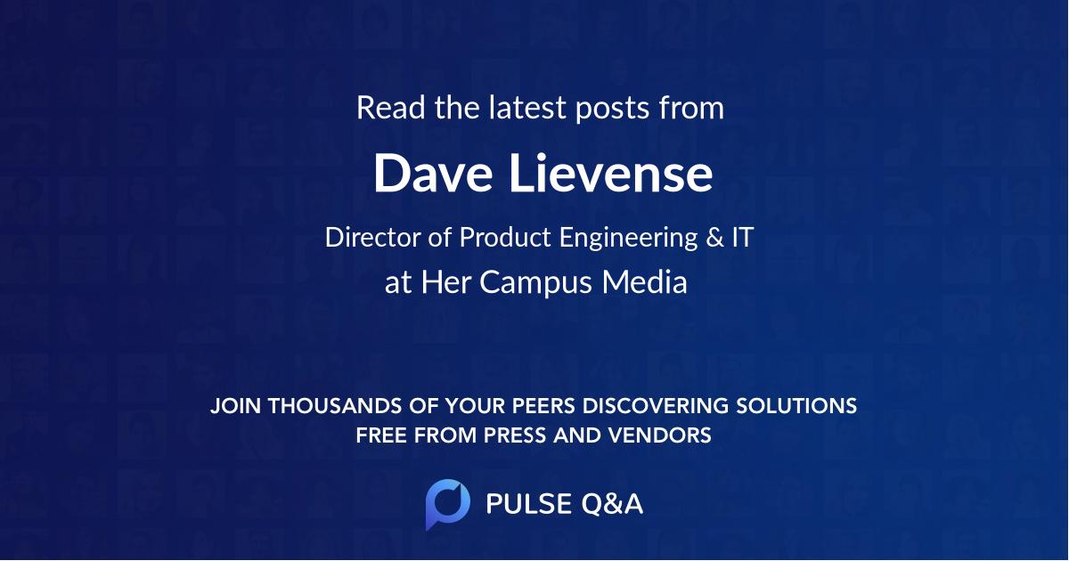 Dave Lievense