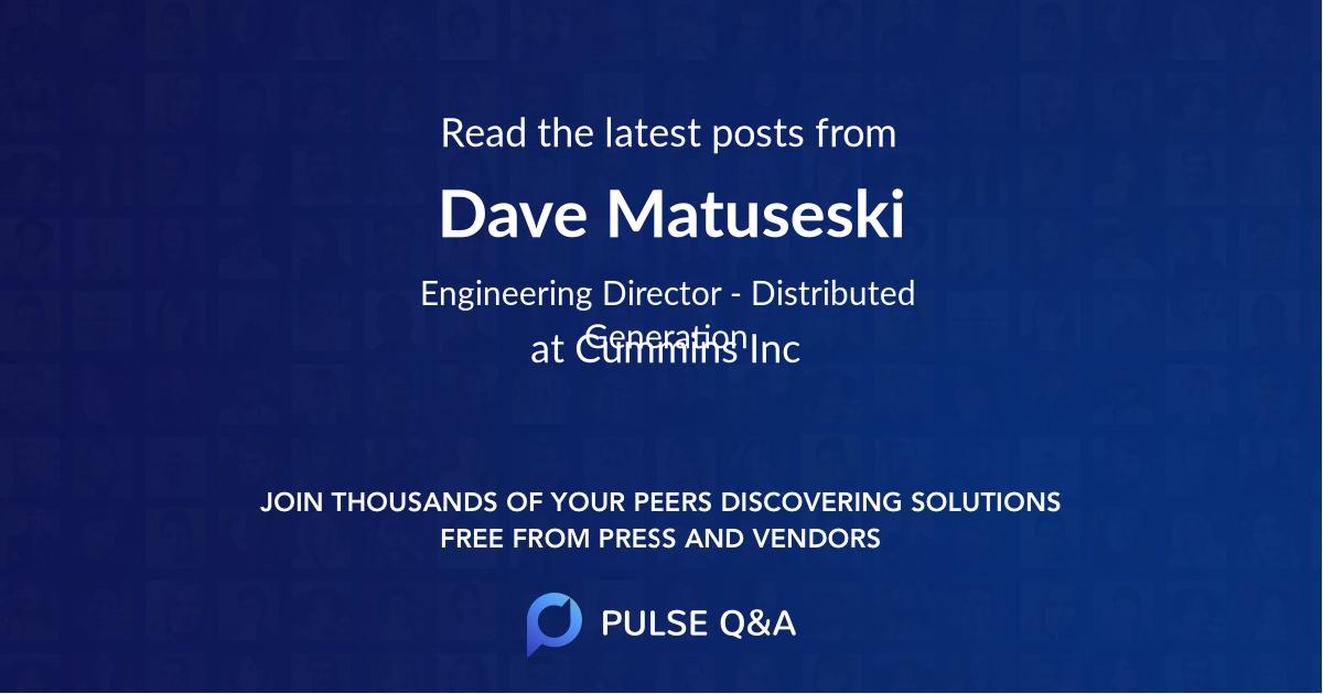 Dave Matuseski