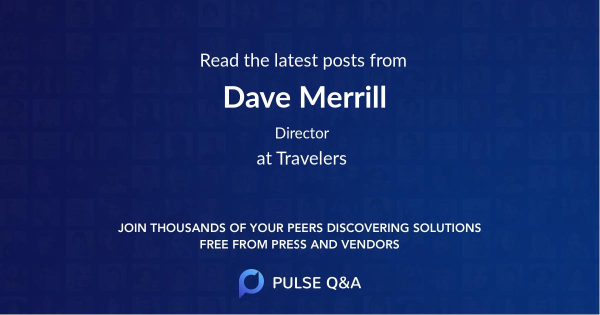 Dave Merrill
