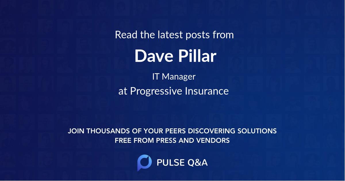 Dave Pillar