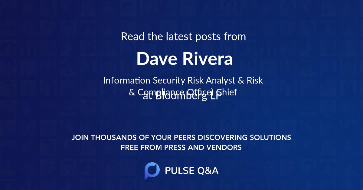 Dave Rivera