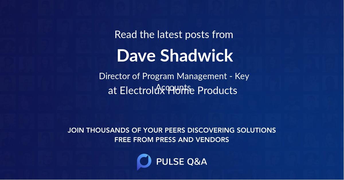 Dave Shadwick