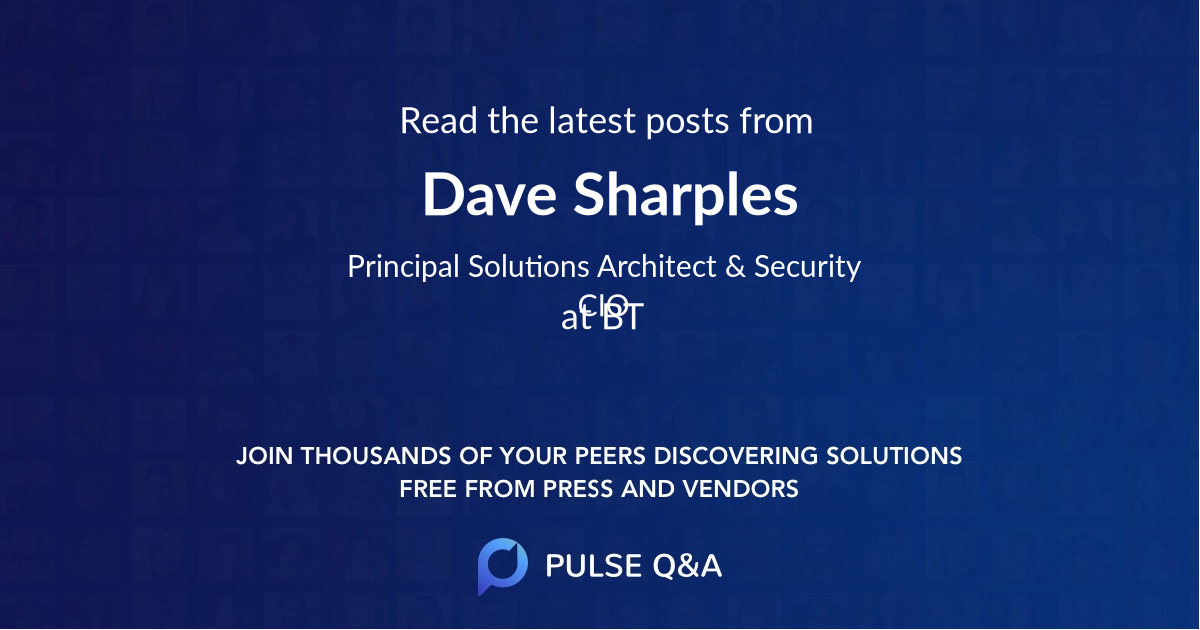 Dave Sharples
