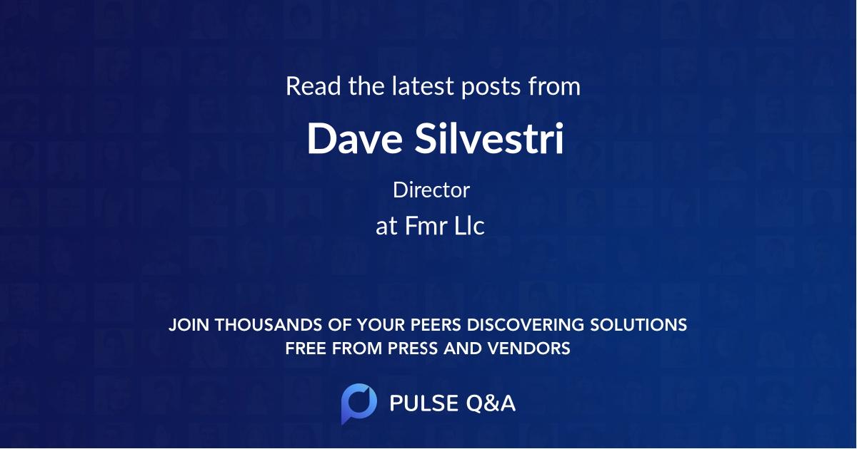 Dave Silvestri