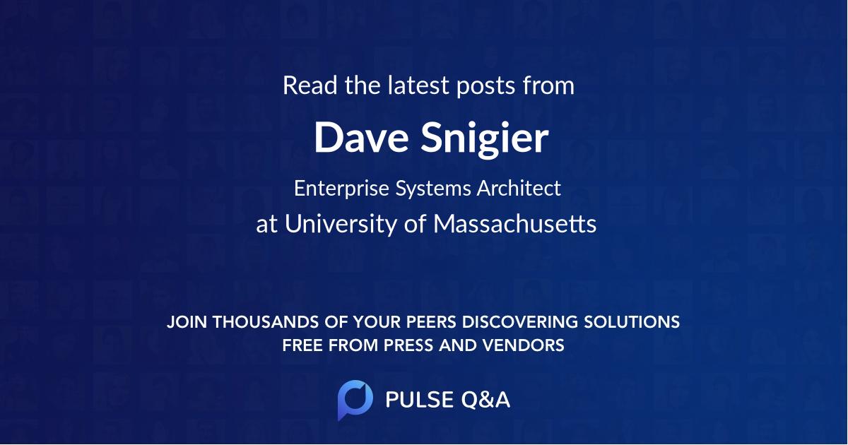 Dave Snigier