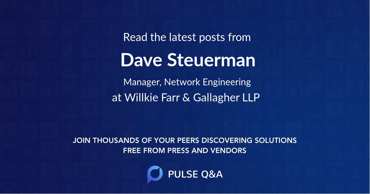 Dave Steuerman