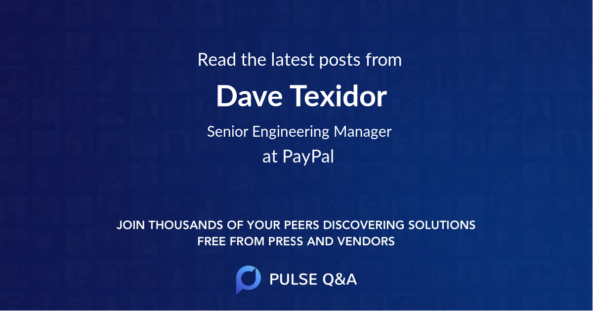 Dave Texidor