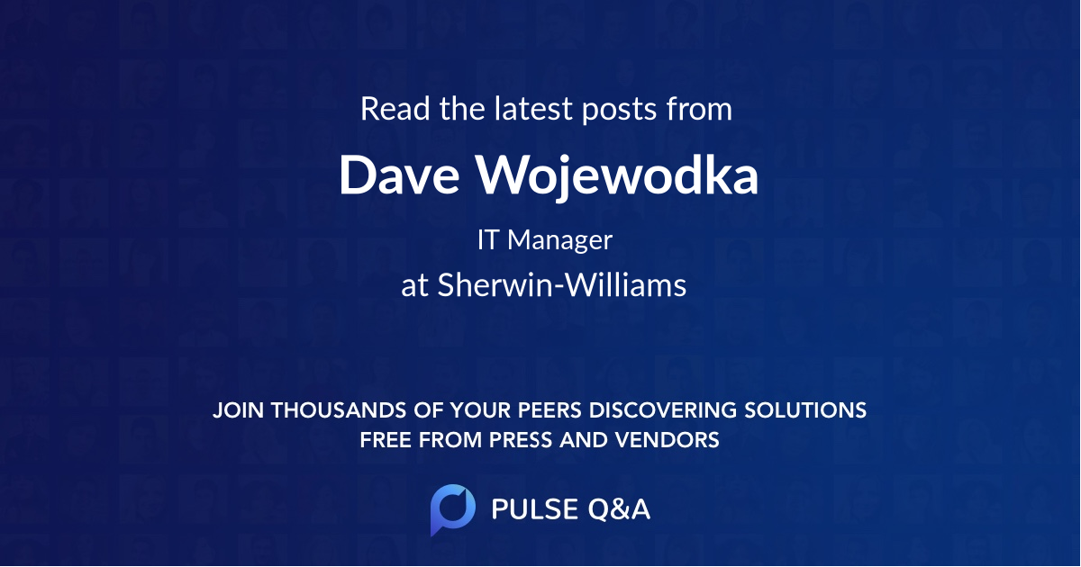 Dave Wojewodka
