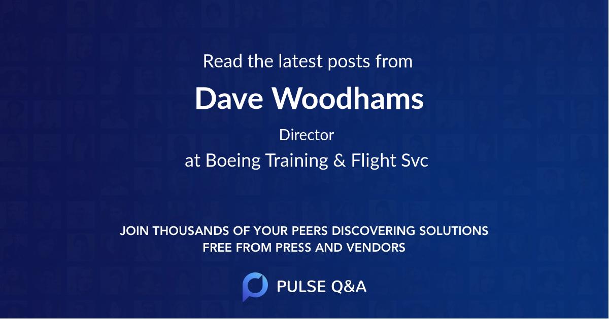 Dave Woodhams