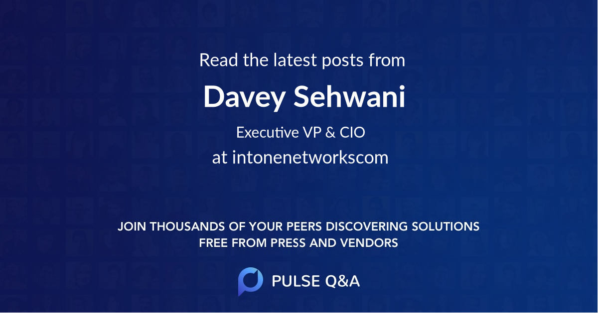 Davey Sehwani