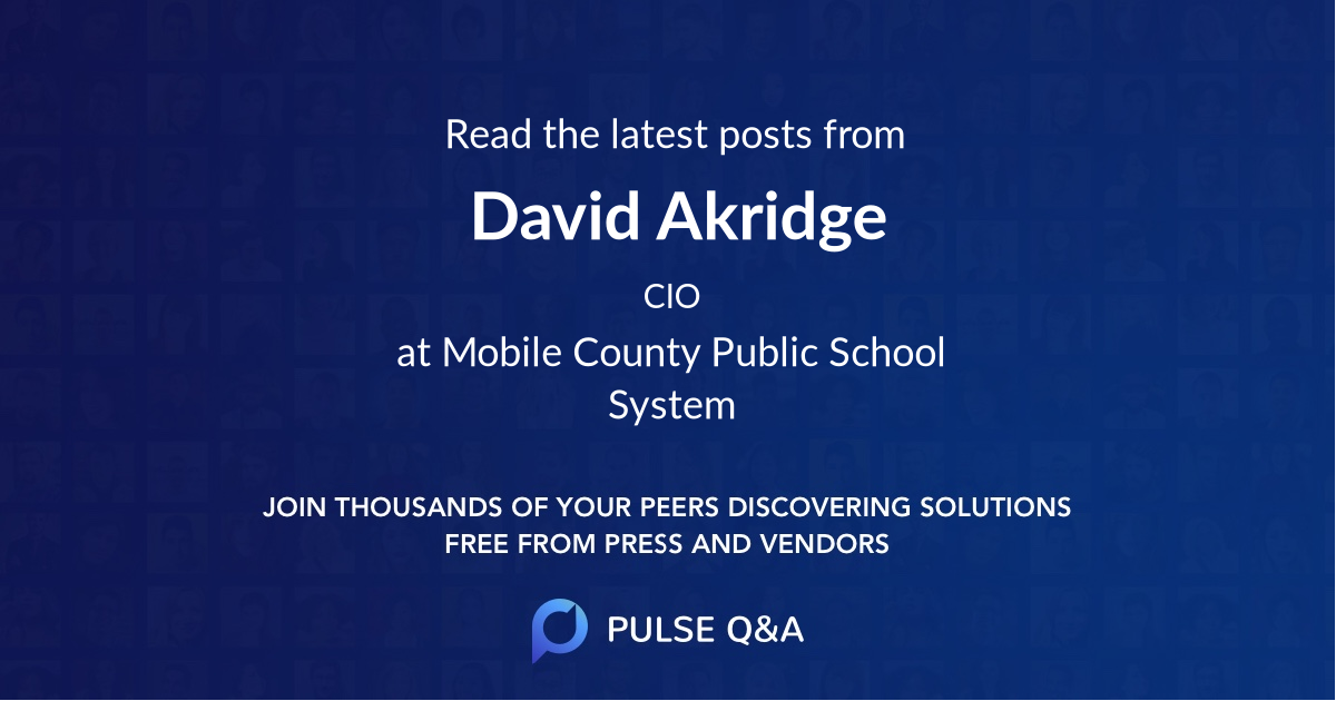 David Akridge