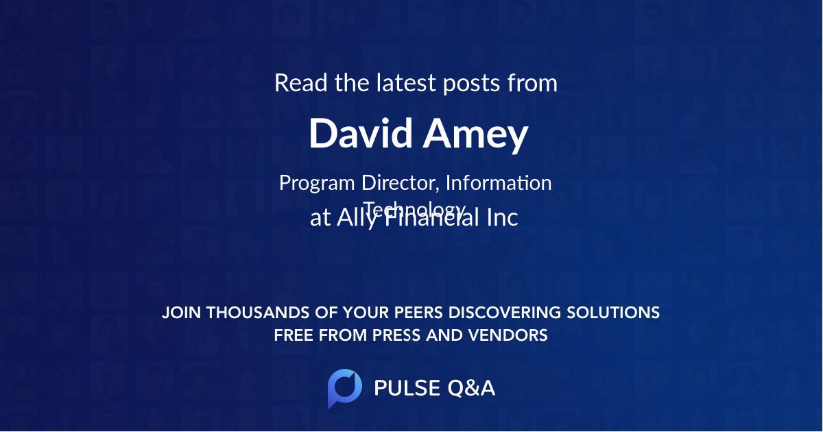 David Amey