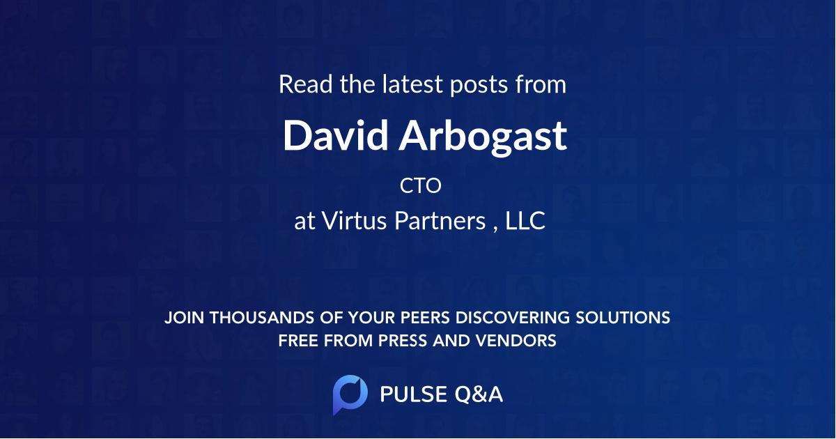 David Arbogast