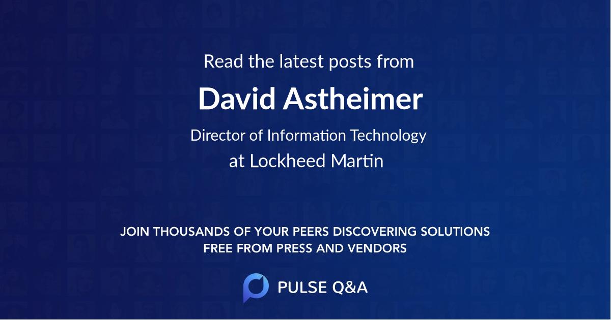 David Astheimer