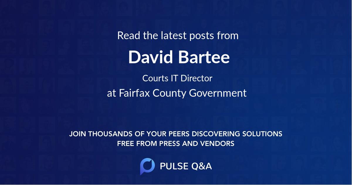 David Bartee