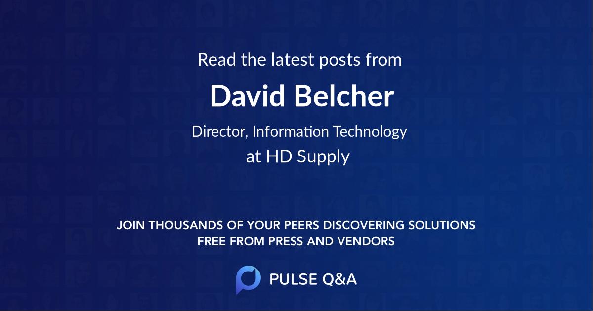 David Belcher