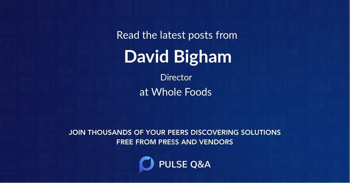 David Bigham
