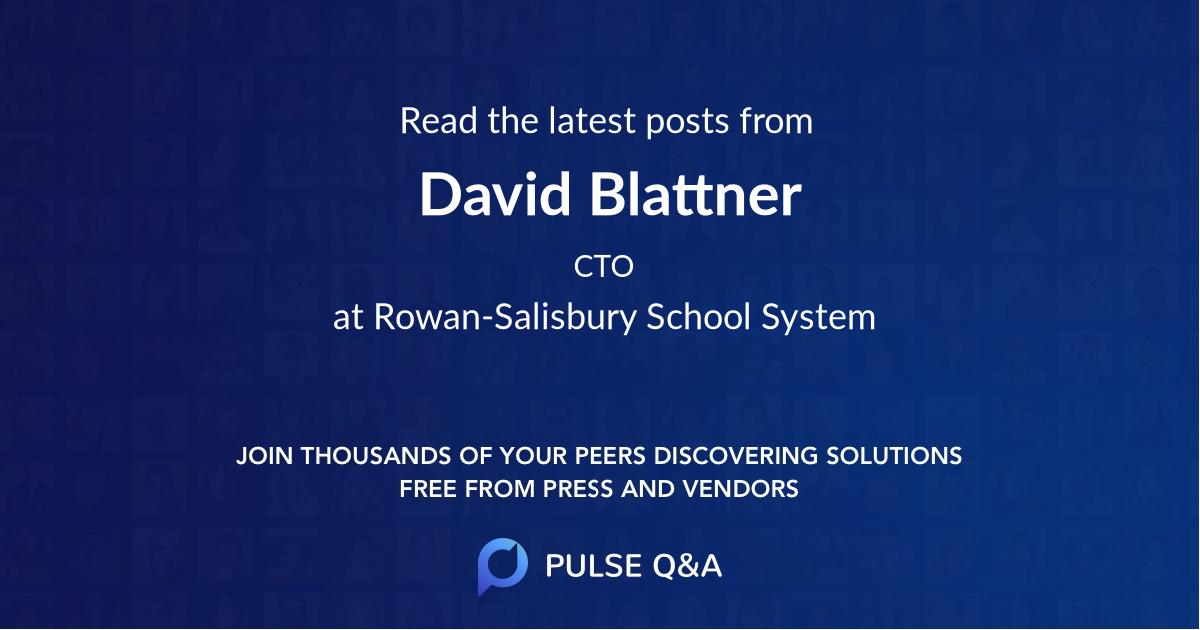 David Blattner