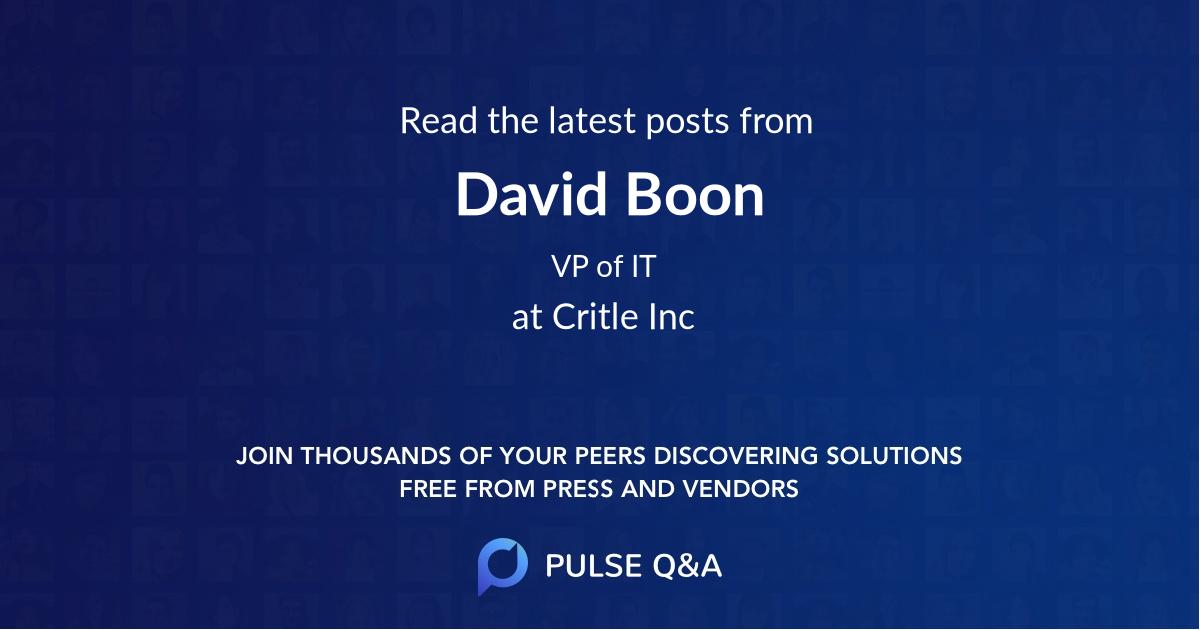 David Boon
