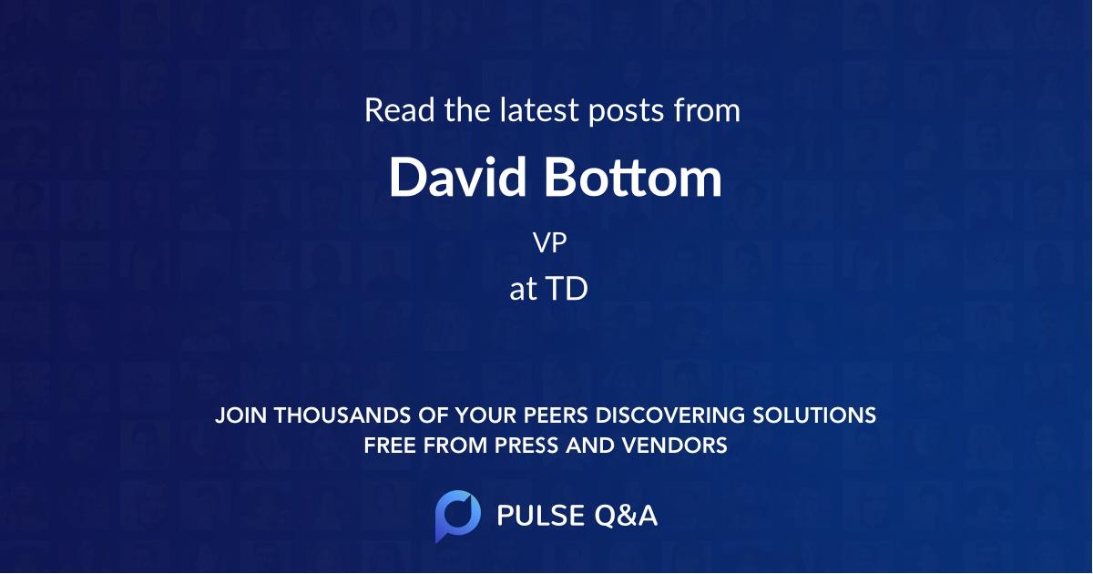 David Bottom