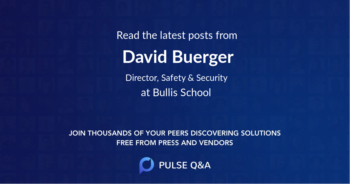 David Buerger