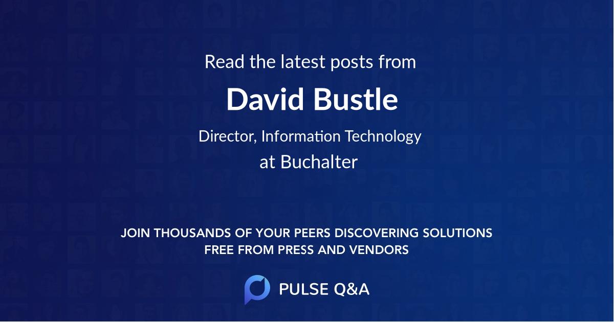 David Bustle