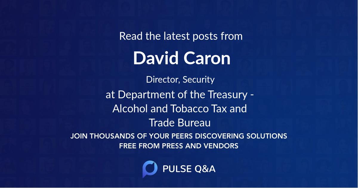 David Caron