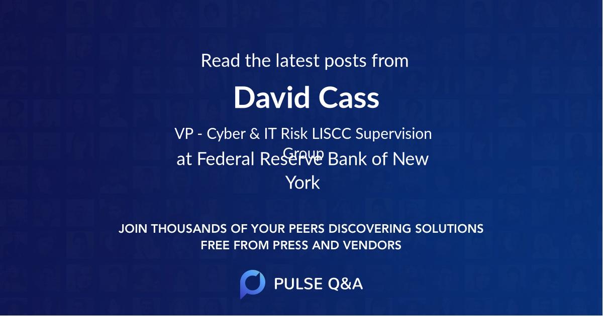 David Cass