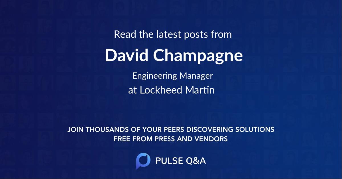 David Champagne