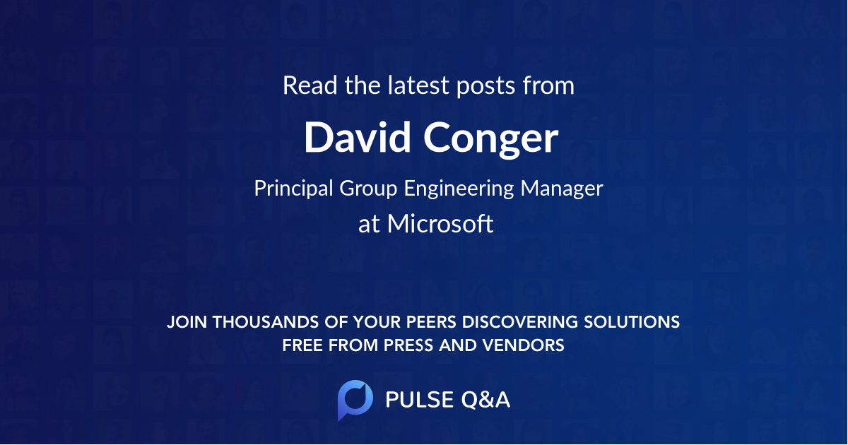 David Conger
