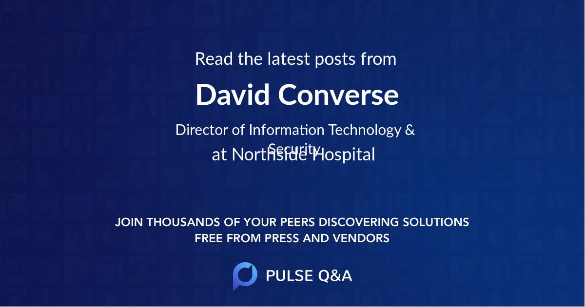 David Converse