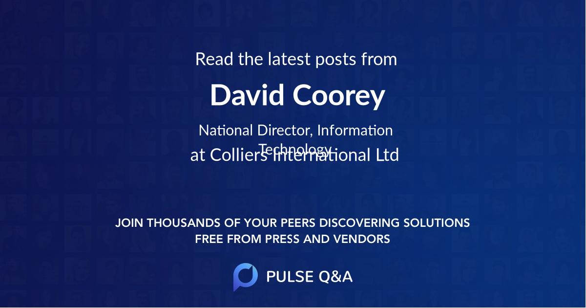 David Coorey