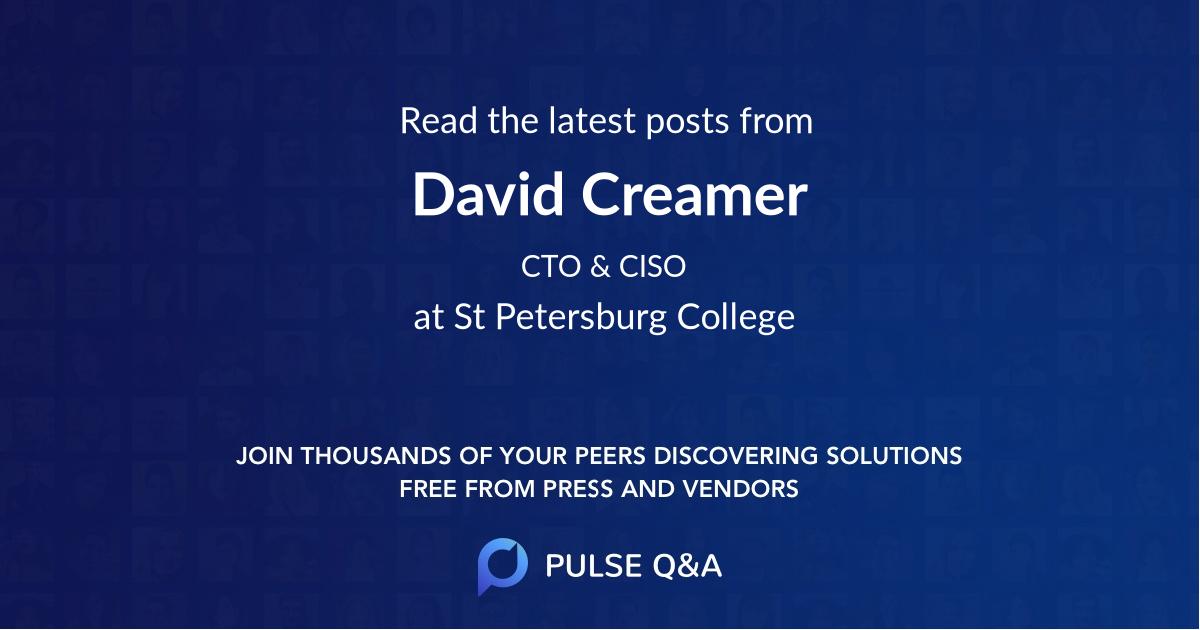 David Creamer