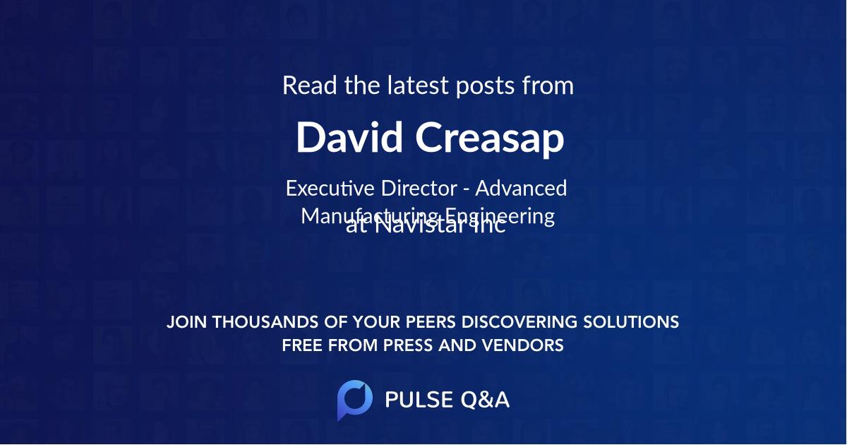 David Creasap