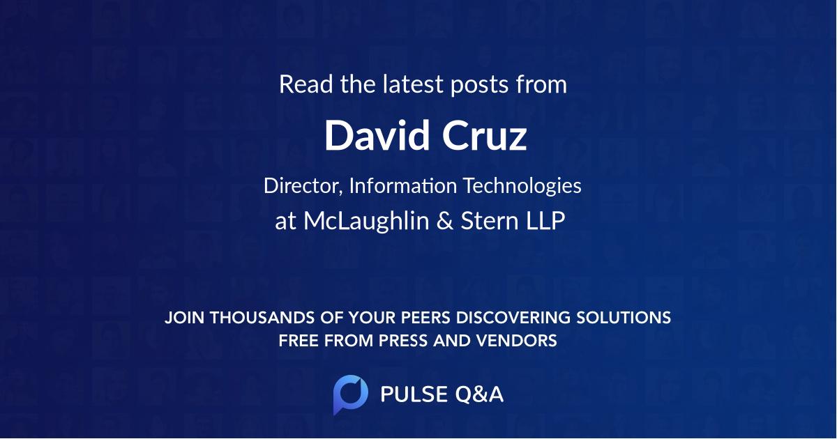 David Cruz