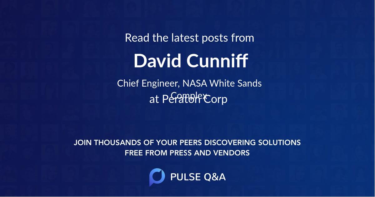 David Cunniff