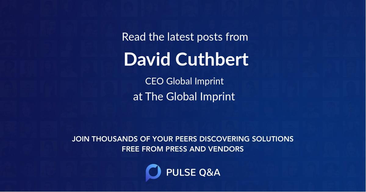 David Cuthbert