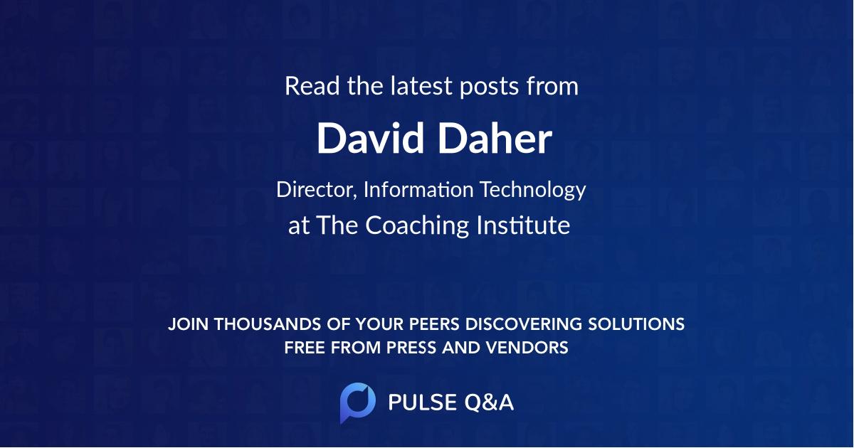 David Daher