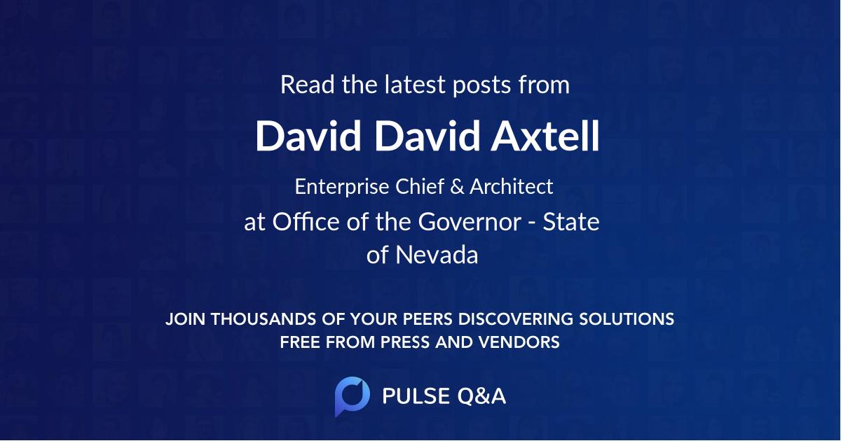 David David Axtell