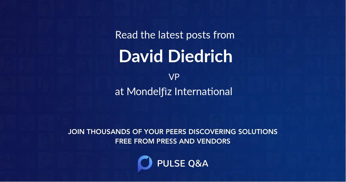 David Diedrich