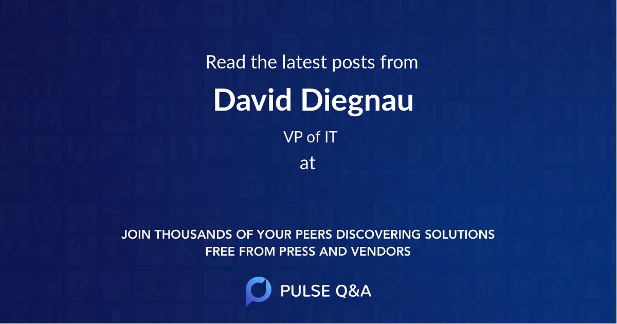 David Diegnau