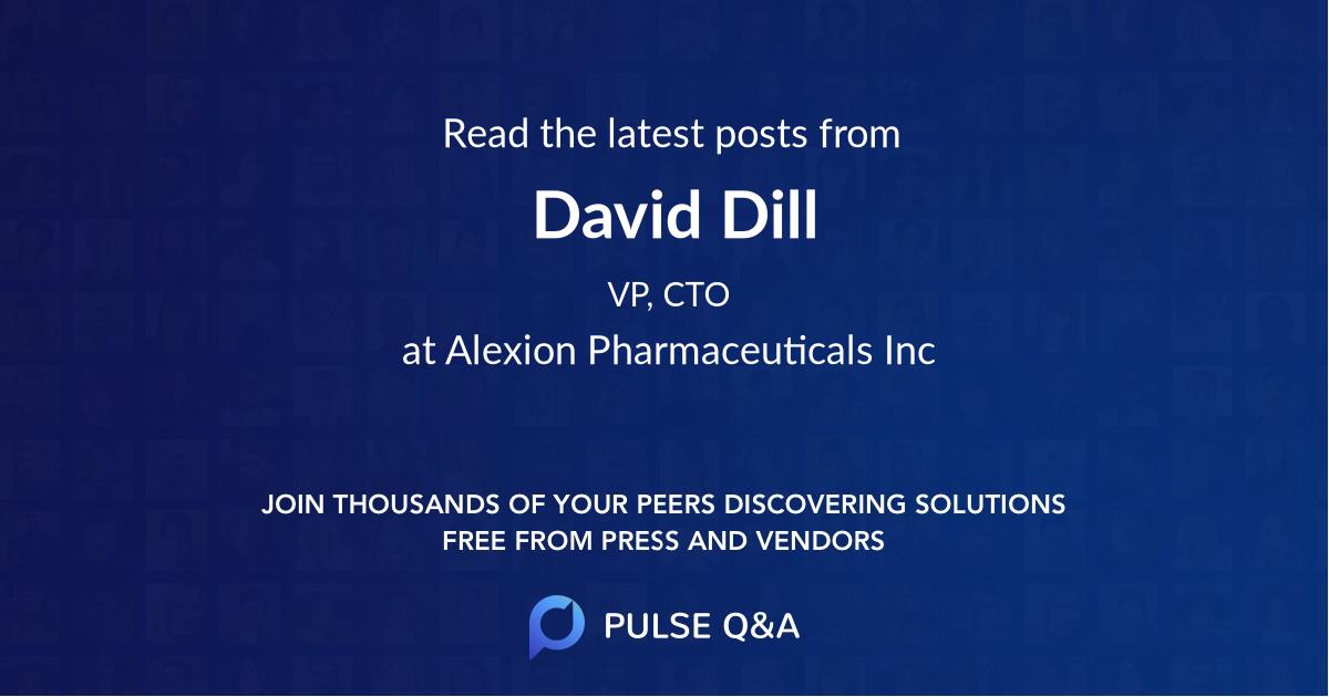 David Dill