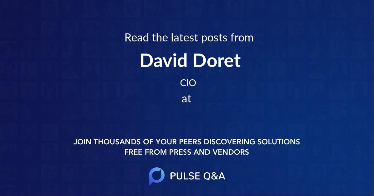 David Doret